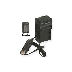 PT-53 AC/DC Rapid Travel Charger for Canon LP-E6 Battery