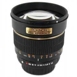 85mm f/1.4 Aspherical Lens for Nikon DSLR Cameras w/Automatic  Chip