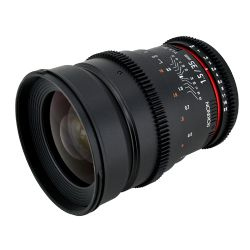 35mm T1.5 Cine VDSLR Wide-Angle Lens for Canon EF - 35mm T1.5 Cine Wide Angle