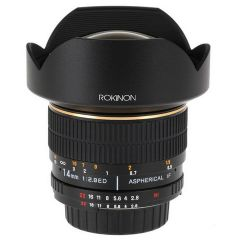14mm f/2.8 IF ED MC Aspherical Super Wide Angle Fisheye Lens for Nikon DSLR Cameras