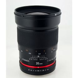 35mm f/1.4 Wide Angle Lens for Canon DSLR Cameras - 35mm f/1.4 Wide Angle
