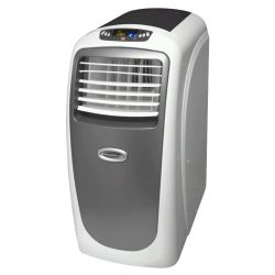 KY3-100 Evaporative Portable Air Conditioner, Dehumidifier and Fan, 10,000 BTU's, White, Grey