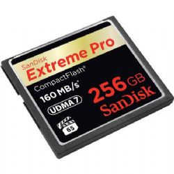 256GB ExtremePRO CompactFlash Card - up to 160MB/sec Transfer Speed, RTL AM (VPG-65)
