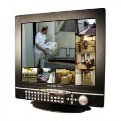 SLD281 17 Inch LCD CCTV Monitor with Built-In 8 Channel Triplex IP DVR