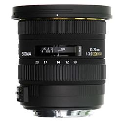 10-20mm F3.5 EX DC HSM Super-Wide Angle Lens for Canon