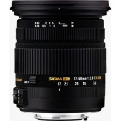 Sigma 17-50mm f/2.8 EX Dc Os HSM Lens Canon