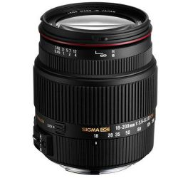 18-200mm f/3.5-6.3 II DC OS HSM Lens for Nikon