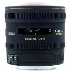 Sigma 4.5mm f/2.8 EX DC HSM Lens for Canon Digital