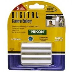 EN-EL8 Rechargeble Li-Ion Battery for Coolpix S51/ S52/ S52c