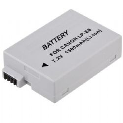 Lithium Ion Battery for Canon EOS Rebel T2i, T3i, T4i, T5i