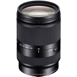 Sony SEL18200LE Zoom Lens for Sony E-Mount - 18mm-200mm - F/3.5-6.3