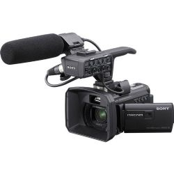96GB HXR-NX30 Palm Size NXCAM HD Camcorder with Projector