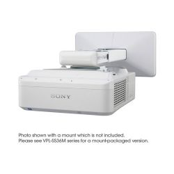 3000 lm XGA Ultra Short Throw Projector w/o mount