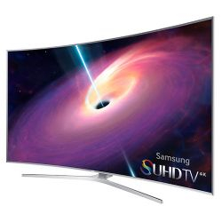Samsung 4K SUHD UN65JS9000 Series Curved Smart TV - 65-Inch