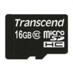 16GB microSD Memory Card With Adapter- Class 10