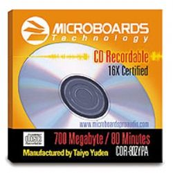 52X 80 Minute/700 MB Silver Lacquer CD-R Media (600 CD-R's)