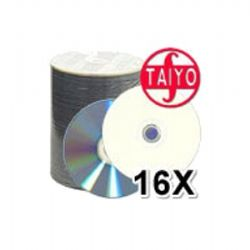 4.7GB 16X White Inkjet Hub Printable DVD-R Media (600 Discs) (6 x 100)