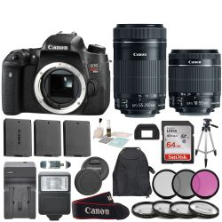 Canon EOS Rebel T6S EF-S 18-55mm f/3.5-5.6 IS STM Bundle