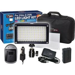 Professional Photo & Video LED Light Kit