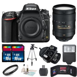 Nikon D750 Digital SLR Camera Body with Nikon AF-S Bundle
