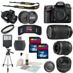 Nikon D7200 Digital SLR Camera Body Bundle