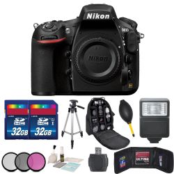 Nikon D810 DSLR Camera Kit + Body + Accessory 64GB Bundle