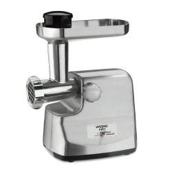 MG855 - Professional Die-Cast Metal Housing Meat Grinder, Brushed Stainless Steel