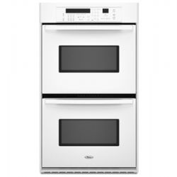 GBD309PVQ-Whirlpool Gold -30-in Double Electric Wall Oven - White
