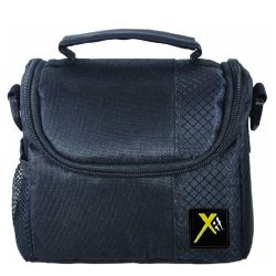 Deluxe Digital Camera/Video Padded  Carrying Case-Small