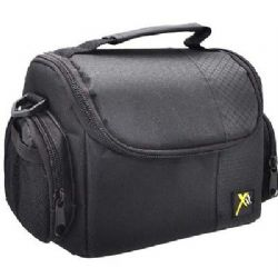 Deluxe Digital Camera/Video Padded Carrying Case-Medium