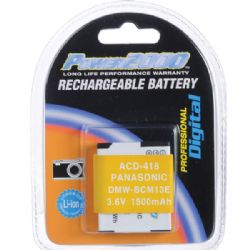 ACD-418 Rechargeable Battery for Panasonic DMW-BCM13E
