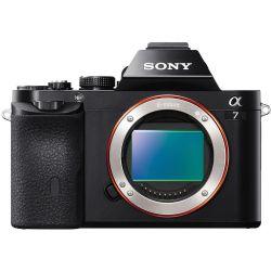 Alpha A7 24.3 MP Mirrorless Digital Camera - Black - Body Only