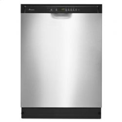 Stainless Steel Amana(R) Tall Tub Dishwasher with Stainless Steel Interior