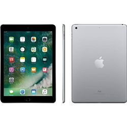 Apple iPad 9.7 with WiFi, 128GB- Space Gray (2017 Model) - (Refurbished)