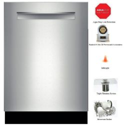Bosch Fully Integrated Built-in Dishwasher Stainless Steel