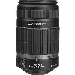 Canon EF-S Telephoto Zoom Lens for Canon EF-S - 55mm-250mm - F/4.0-5.6