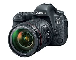 Canon EOS 6D Mark II DSLR with EF 24-105mm II USM Lens - WiFi