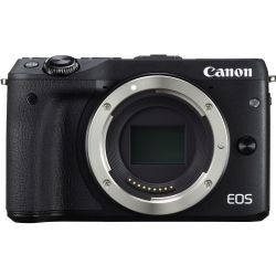 Canon EOS M3 Mirrorless Digital Camera Body Only Black
