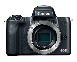 Canon EOS M50 Mirrorless Camera Body w/4K Video (Black)