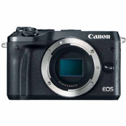 Canon EOS M6 24.2 MP Mirrorless Digital 1080p - Black - Body Only