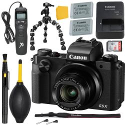 Canon G5 X Digital Camera + MORE