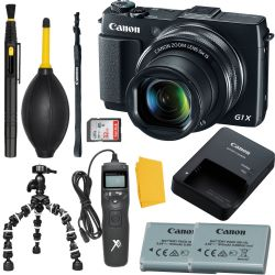 Canon PowerShot G1 X Mark II High End, Advanced Digital Camera + MORE