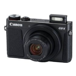 Canon PowerShot G9 X Mark II 20.1 MP Digital Camera - 1080p - Black