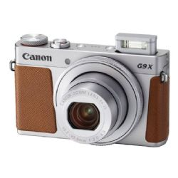 Canon PowerShot G9 X Mark II 20.1 MP Digital Camera - 1080p - Silver