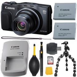 Canon PowerShot SX710 HS Digital Camera (Black)  Basic Kit