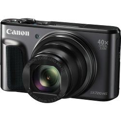 Canon PowerShot SX720 HS 20.3 MP Digital Camera - 1080p - Black