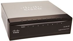 Cisco SG200-08P 8 port Gigabit PoE Smart Switch SLM2008PT-NA