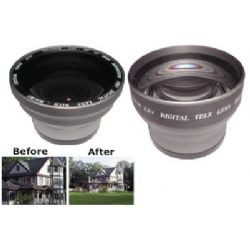 Professional Titanium Wide Angle/Telephoto Lens Set-Purchase Both Lenses Together and Save $100 !