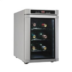 DWC620PLSC 11 Inch Wine Cooler Refrigerator - Stainless Steel