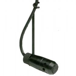 RE90HW Condenser Cardioid Hanging Microphone White (black shown).